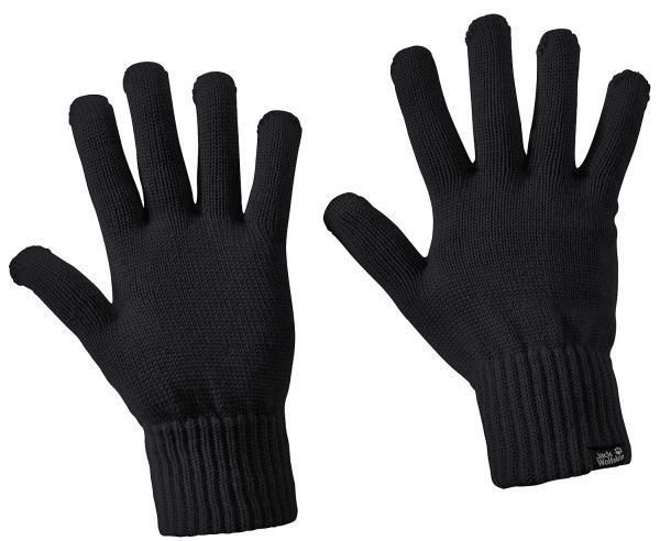rukavice Jack Wolfskin Milton - Black M