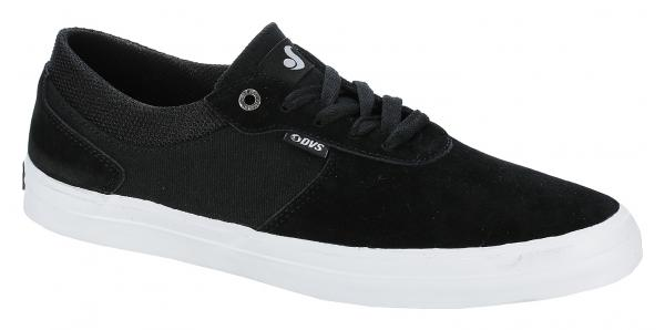 boty DVS Merced - Black/White Suede 43