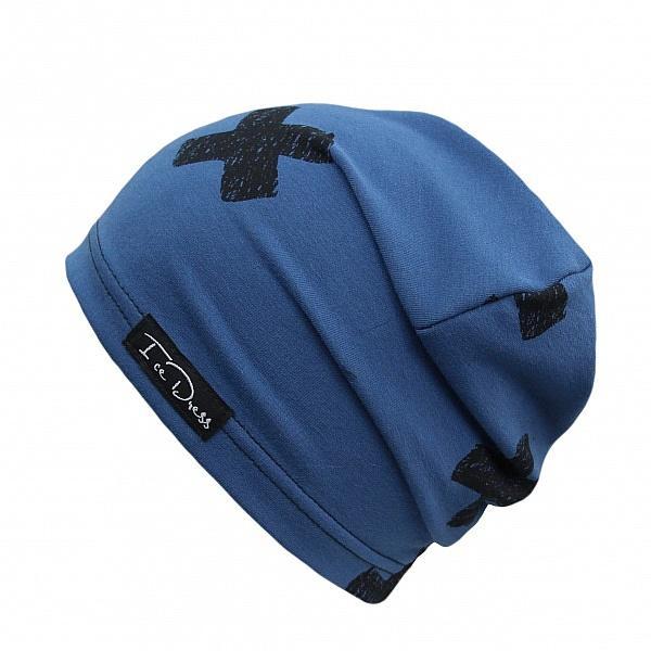 čepice IceDress Cross III - Blue 54-59 cm