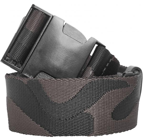pásek Urban Classics Jaquard Camo/TB2170 - Black/Brown one size