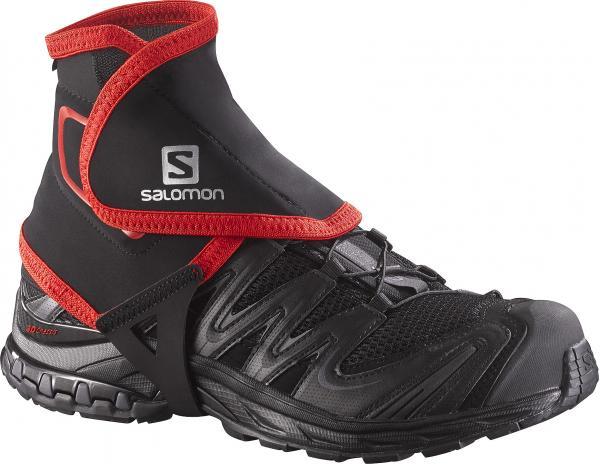 návleky Salomon Trail Gaiters High - Black L