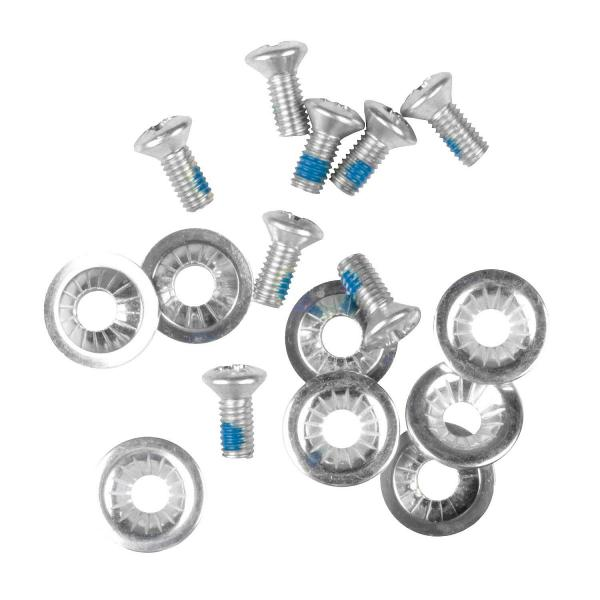 šroubky Gravity Binding Screws And Washers - Silver one size