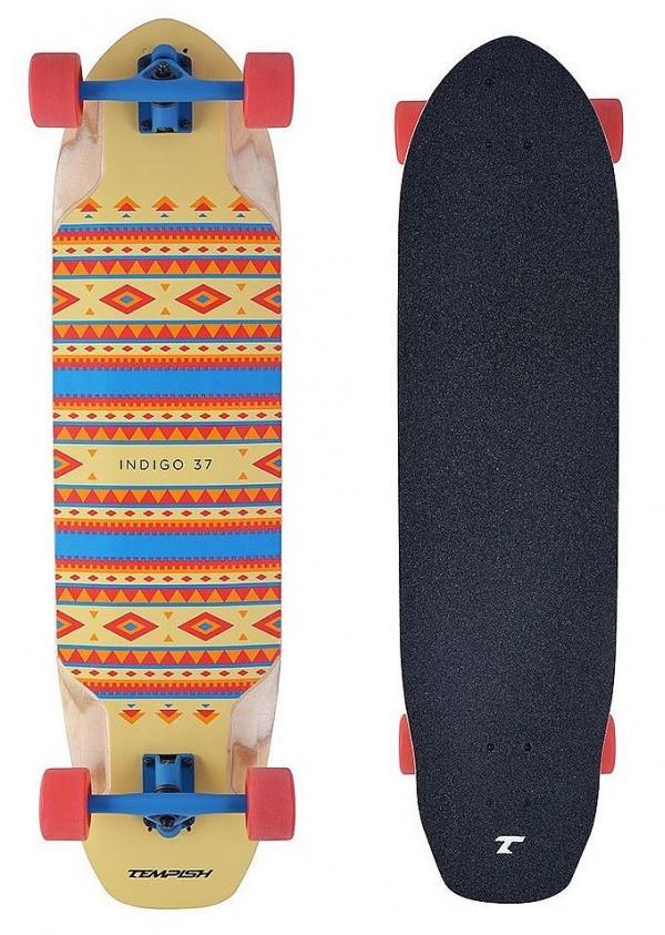 longboard Tempish Indigo 37 Downhill - Multicolor 9x36