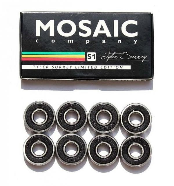 ložiska Mosaic Super 1 Tayler Surrey ABEC 7 - Black one size