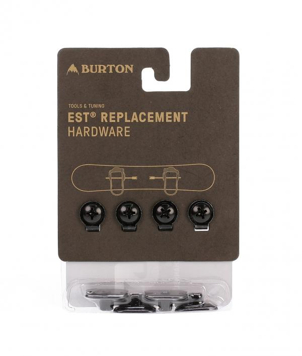 šroubky Burton M6 Channel Replacement Hardware - Black one size