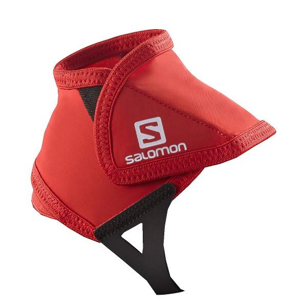 návleky Salomon Trail Gaiters Low - Bright Red M