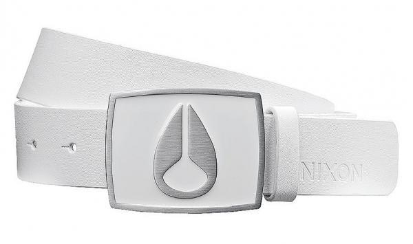 pásek Nixon Enamel Icon II - White L