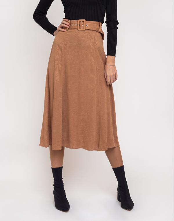 Edited Winona Skirt Camel 34