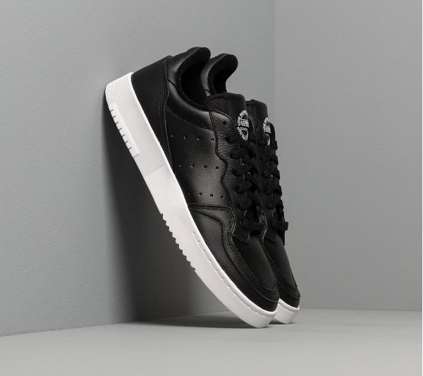 adidas Supercourt Core Black/ Core Black/ Ftw White
