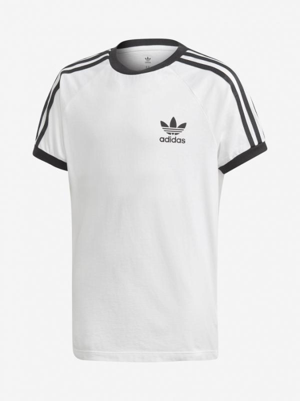 Tričko adidas Originals 3Stripes Tee Bílá