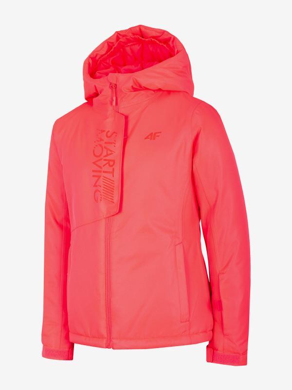 Bunda 4F Jkudn400 Ski Jacket Růžová