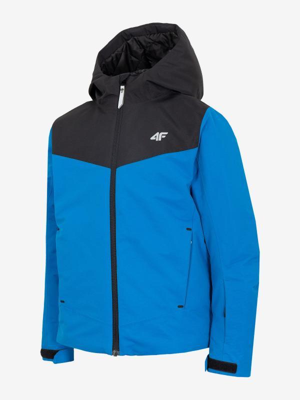 Bunda 4F Jkumn400 Ski Jacket Modrá