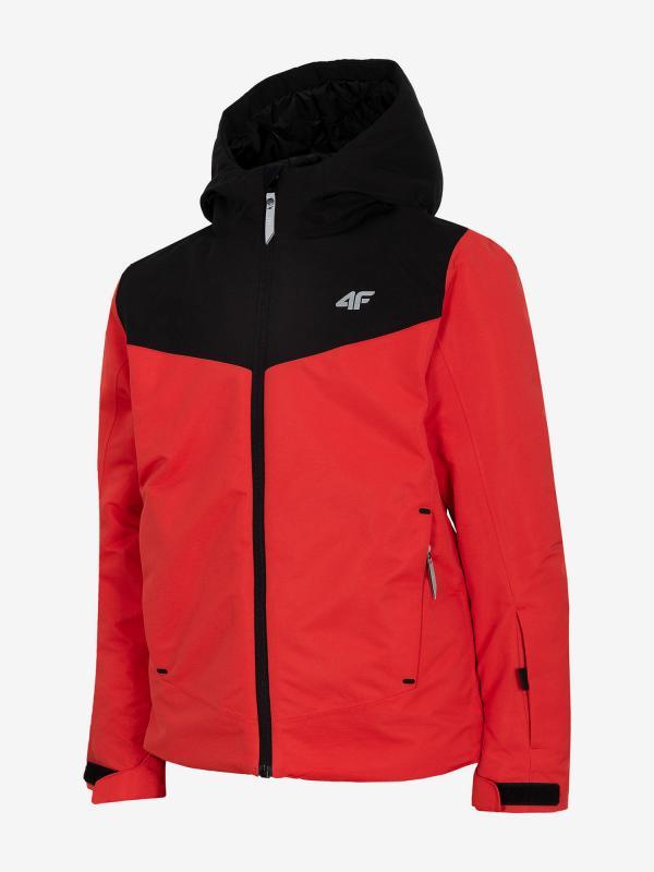 Bunda 4F Jkumn400 Ski Jacket Červená