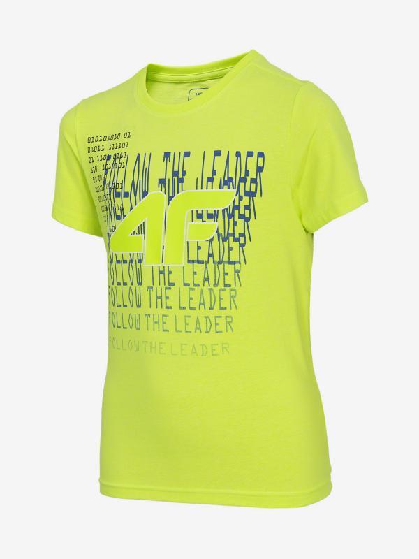 Tričko 4F Jtsm215 T-Shirt Žlutá