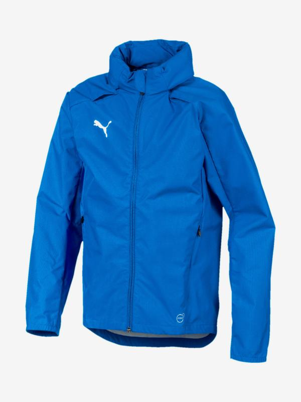 Bunda Puma Liga Training Rain Jacket Jr Modrá