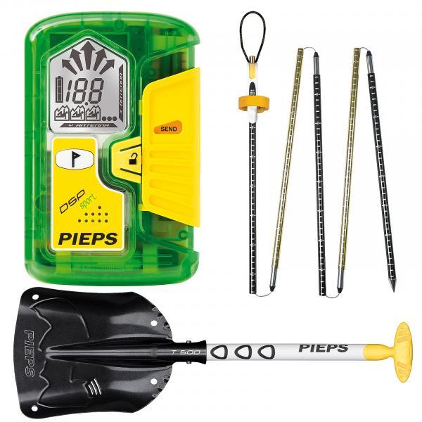 vyhledávač Pieps Sport Set - Green one size