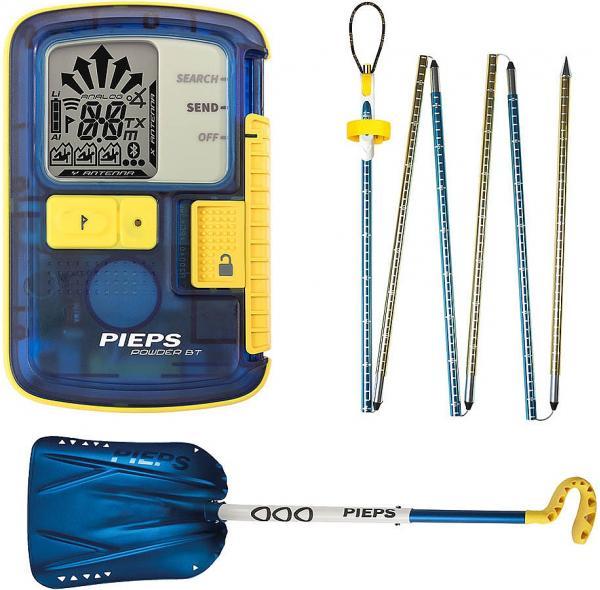 vyhledávač Pieps Powder BT Set - Blue one size
