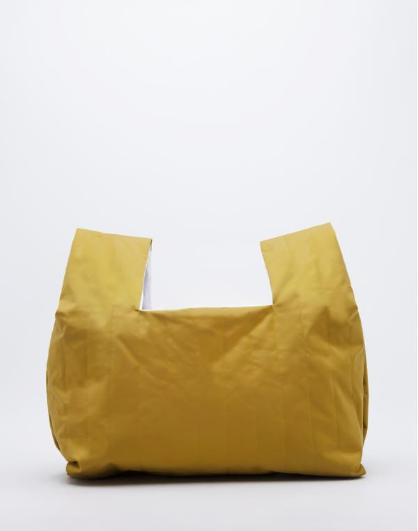 Buffet Bagg Tote Amber Yellow