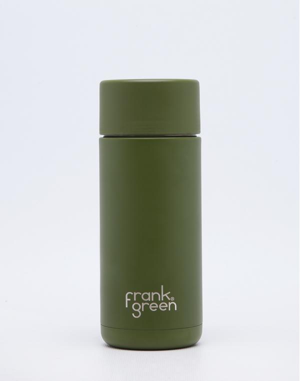 Frank Green Ceramic Steel Bottle 475 ml Khaki