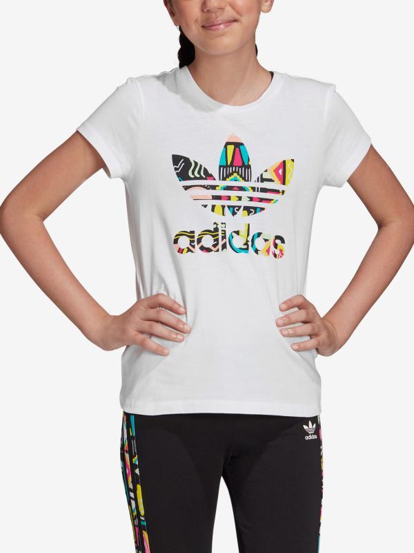 Tričko adidas Originals Slim Tee Bílá