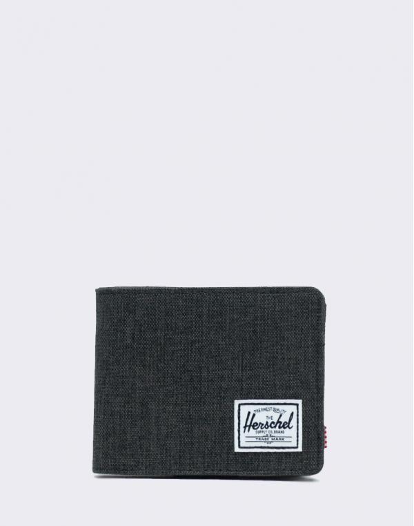 Herschel Supply Roy + Coin RFID Black X