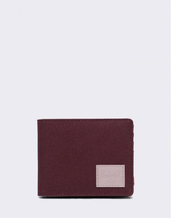 Herschel Supply Roy + Coin RFID Plum/ Ash Rose