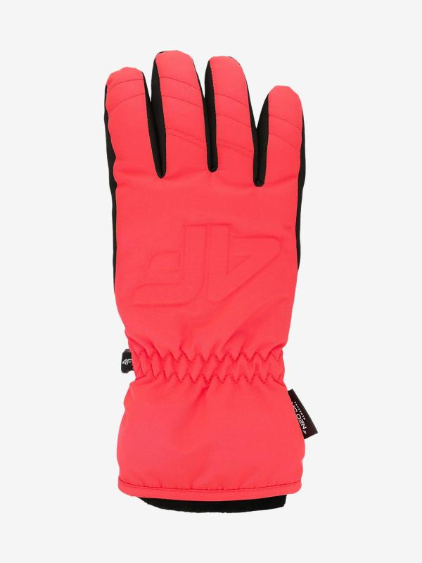Rukavice 4F Red350 Ski Gloves Červená
