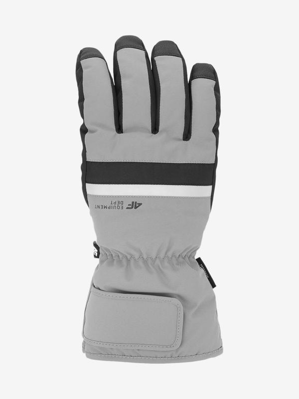 Rukavice 4F Rem350 Ski Gloves Šedá