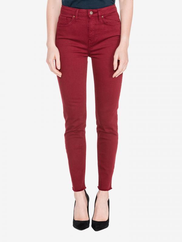 Riverpoint Jeans Tommy Hilfiger Červená