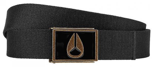 pásek Nixon Enamel Wings - Black/Brass one size