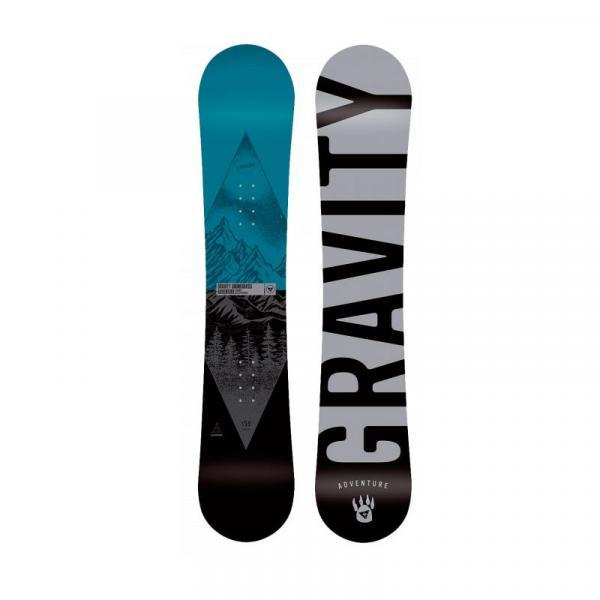 SNOWBOARD GRAVITY ADVENTURE - modrá