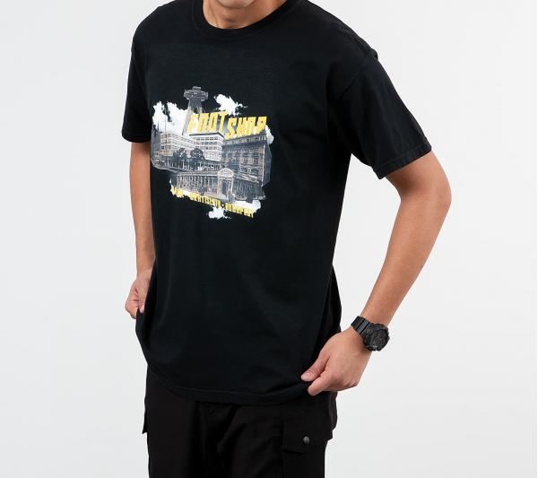 Footshop Stores & Cities Tee Black