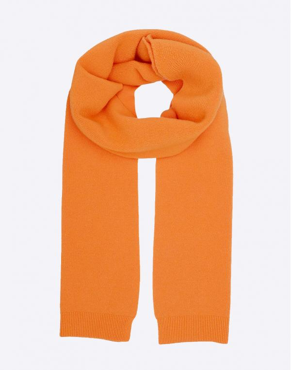Colorful Standard Merino Wool Scarf Burned Orange