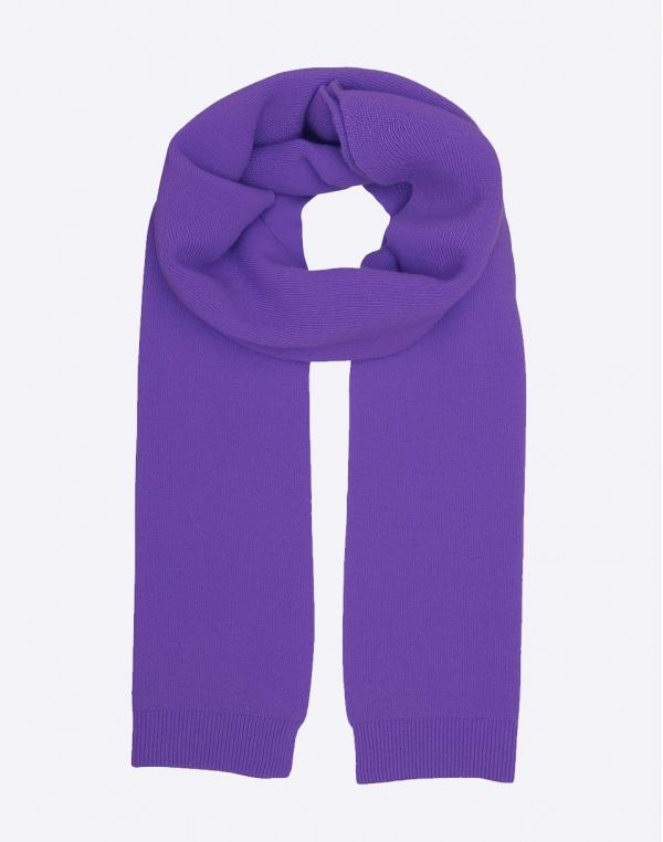 Colorful Standard Merino Wool Scarf Ultra Violet