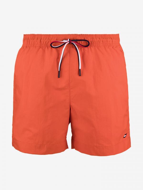 Plavky Tommy Hilfiger Oranžová