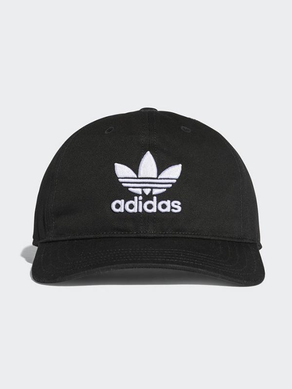 Kšiltovka adidas Originals TREFOIL CAP Černá