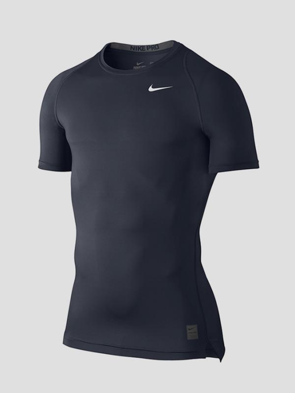 Kompresní tričko Nike M NP TOP COMP SS Šedá