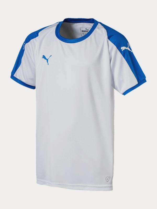 Tričko Puma Liga Jersey Jr Bílá