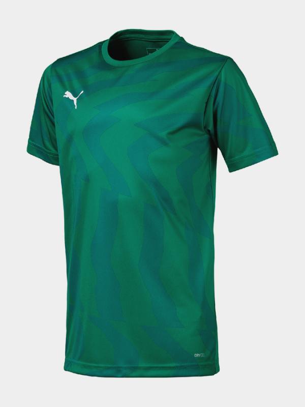 Tričko Puma Cup Jersey Core Jr Zelená