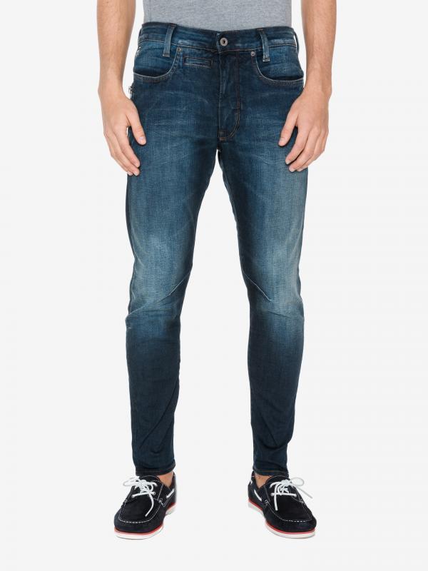 D-staq Jeans G-Star RAW Modrá