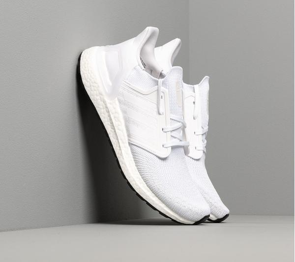 adidas UltraBOOST 20 Ftw White/ Ftw White/ Core Black