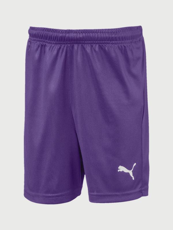Kraťasy Puma Liga Shorts Core Jr Fialová