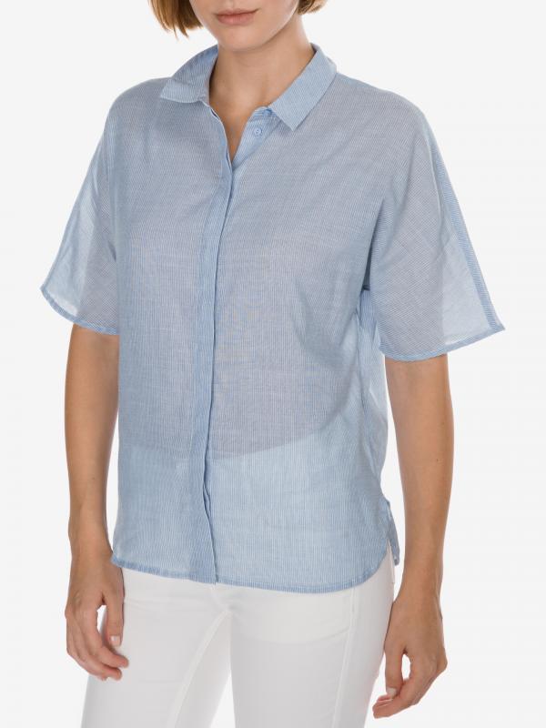 Delilja Košile SELECTED Modrá