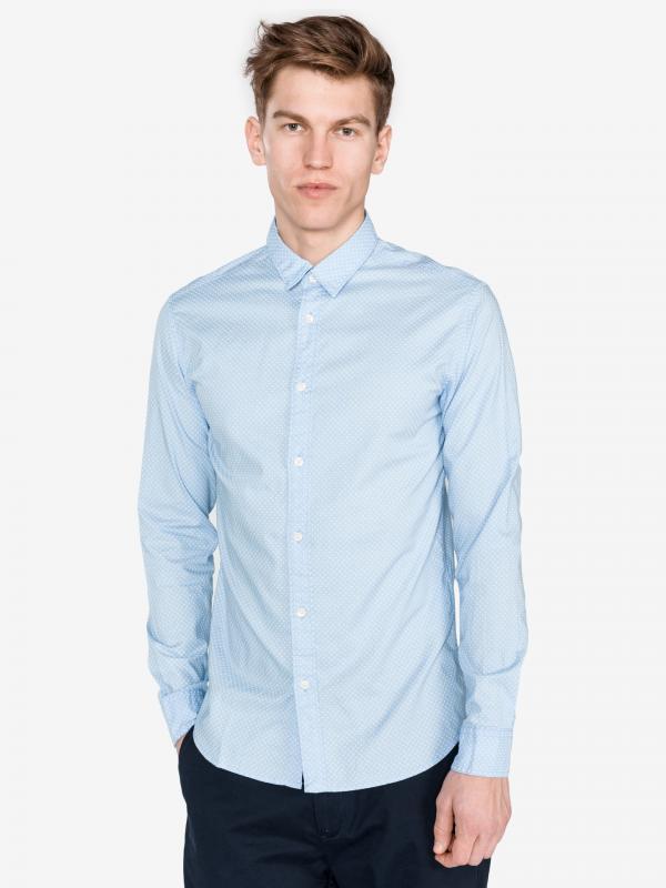 Moonie Košile SELECTED Modrá