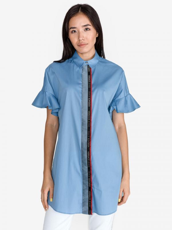 Košile Versace Jeans Modrá