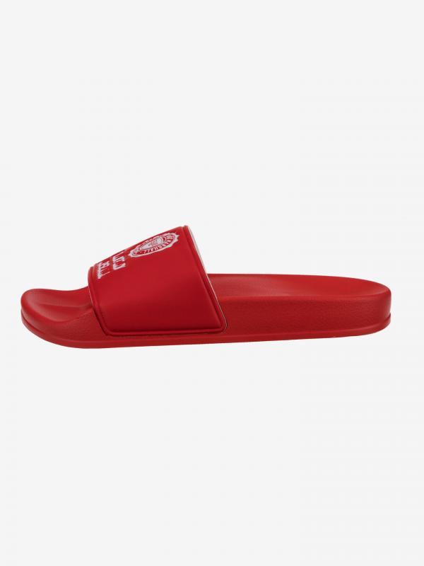 Pantofle Franklin & Marshall Červená