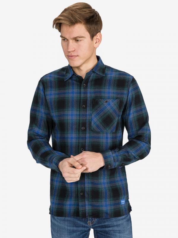 Lumberjack Košile Jack & Jones Modrá