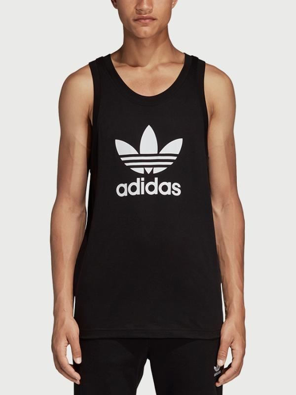 Tílko adidas Originals Trefoil Tank Černá