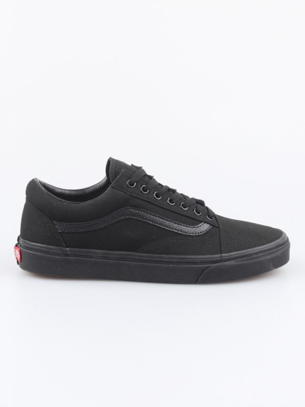 Boty Vans Ua Old Skool Black/Black Černá