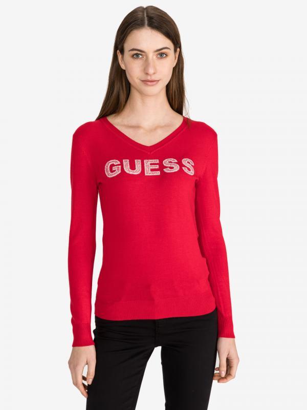 Megan Svetr Guess Červená